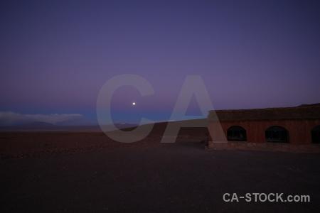 Huayllajara altitude landscape mountain moon.