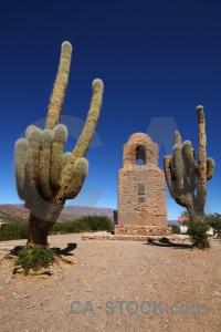 Humahuaca sky ruin torre de santa barbara cactus.