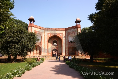 Humayun dome sky new delhi path.