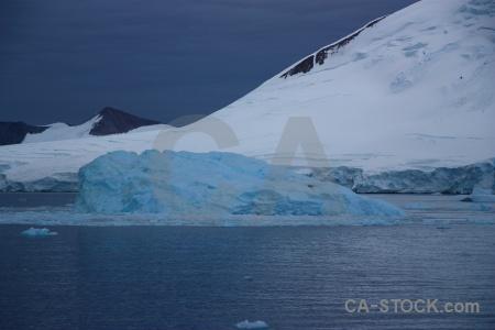 Ice day 5 south pole iceberg cloud.