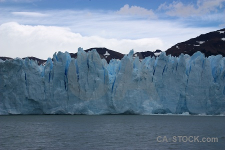 Ice lago argentino south america lake patagonia.