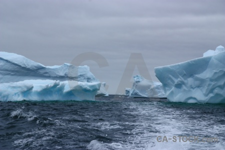 Ice marguerite bay water antarctica wake.