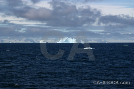 Ice mountain day 5 iceberg antarctic peninsula.
