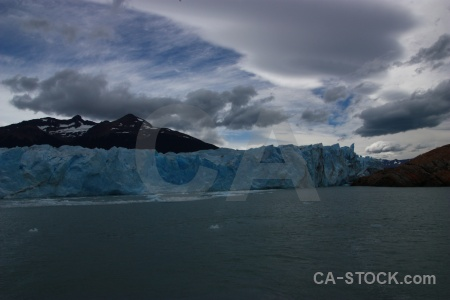 Ice perito moreno lake argentino patagonia south america.