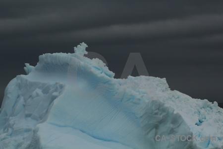 Ice sky iceberg storm antarctica.