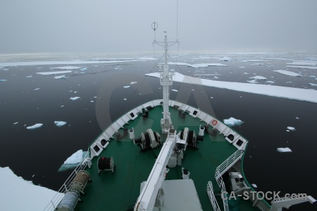 Ice snow antarctica cruise akademik ioffe vehicle.