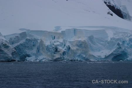 Ice snow paradise harbour glacier antarctica cruise.