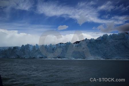 Ice south america argentina perito moreno lago argentino.