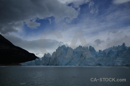 Ice south america lago argentino glacier lake.