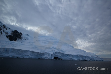 Ice south pole antarctica cruise day 6 snowcap.