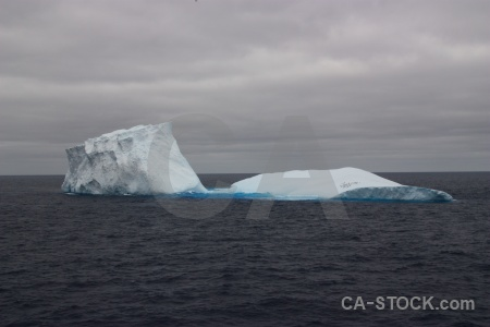 Iceberg day 4 ice sky antarctica cruise.