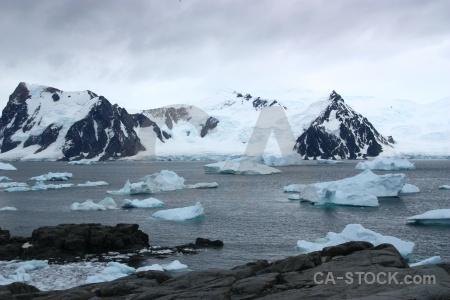 Iceberg ice antarctica cruise snowcap.