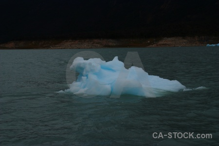 Iceberg ice lake patagonia argentina.