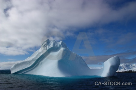 Iceberg ice south pole day 8 antarctica.
