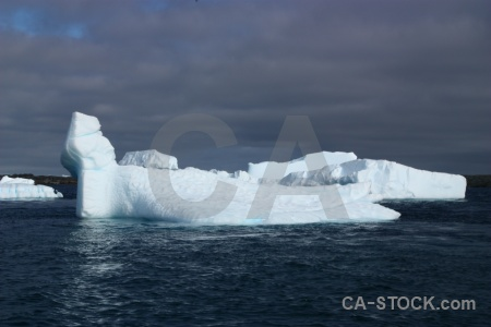 Iceberg sea cloud antarctica ice.