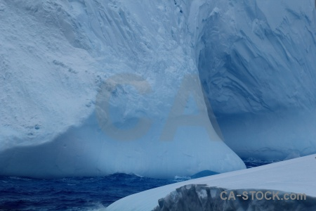 Iceberg sea day 4 water drake passage.
