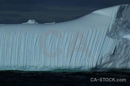 Iceberg sea day 5 cloud sky.