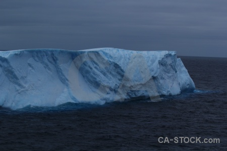Iceberg sky ice drake passage cloud.
