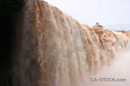 Iguacu falls water south america river iguazu.