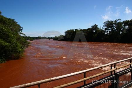 Iguassu falls argentina river water unesco.