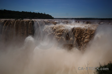 Iguassu falls argentina water unesco waterfall.