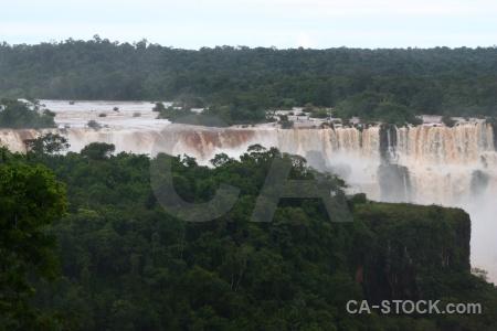 Iguassu falls sky iguazu brazil water.