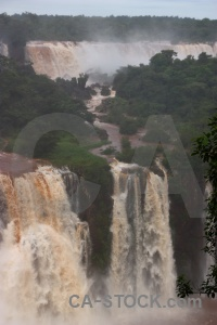 Iguassu falls waterfall water iguacu unesco.