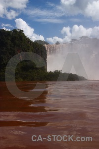 Iguazu falls cloud sky river iguacu.