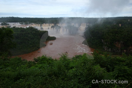 Iguazu falls iguassu iguazu river cloud water.