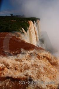 Iguazu river garganta del diablo south america iguassu falls tree.