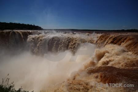 Iguazu river south america unesco argentina iguacu falls.