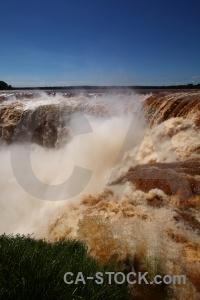 Iguazu river water unesco argentina iguassu falls.