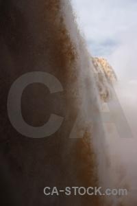 Iguazu river waterfall iguassu falls brazil water.