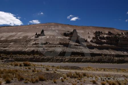 Imata stone forest south america landscape crucero alto grass.