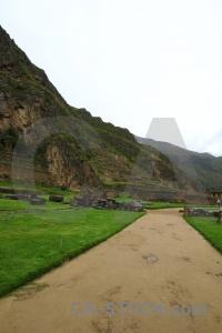 Inca stone altitude ruin peru.