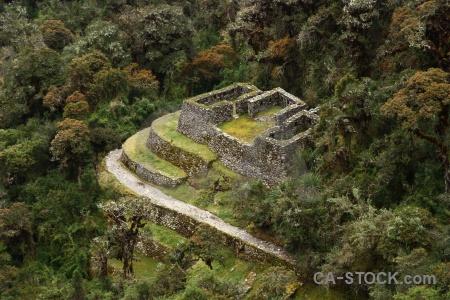 Inca trail south america peru andes altitude.