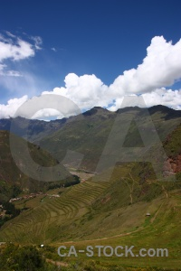 Inca valley urubamba landscape cloud.