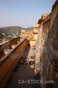 India amer fort sky palace.