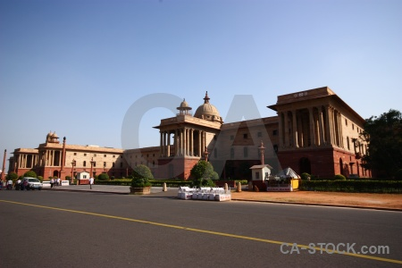 India building rashtrapati bhavan pillar dome.