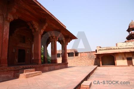 India mughal fort fatehpur sikri akbar.