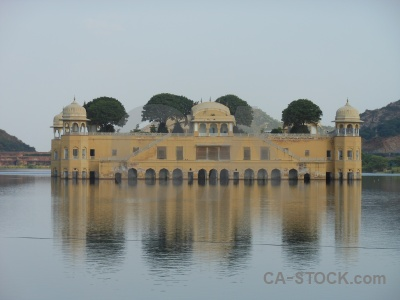 India south asia lake water palace man sagar.