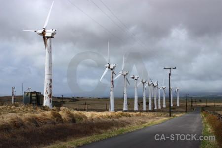 Industry building wind turbine.