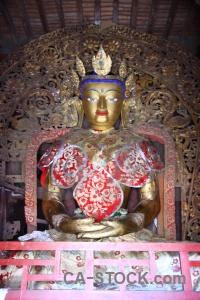 Inside asia himalayan shekar gyantse buddhist.