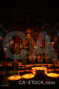 Inside buddhist china palcho monastery shekar gyantse.