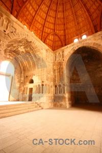 Inside citadel amman jordan ruin.