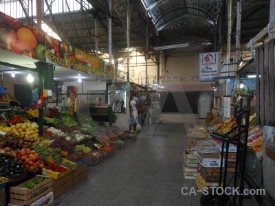 Inside market buenos aires building fruit.