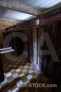 Inside southeast asia s 21 tuol sleng chequered.
