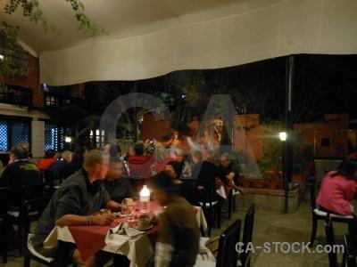 Inside thamel restaurant nepal asia.