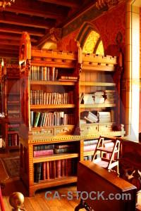 Interior building furniture object bookshelf.