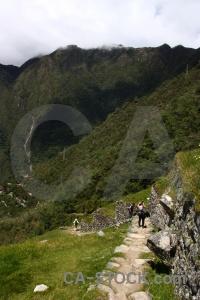 Intipata yunkapata inca mountain stone.